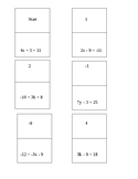 Solving Equations Dominoes
