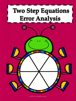 Two Step Equations Error Analysis