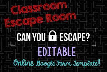 """Solving Equations """"Escape Room"""" Activity"""