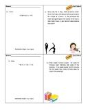 Solving Equations Exit Ticket