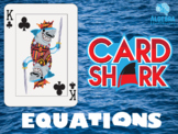Solving Equations Fun Review Game - Card Shark