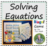 Solving Equations Game