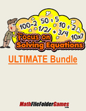Focus on Solving Equations (Games, Activities, Worksheets & Posters)