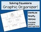 Solving Equations Graphic Organizer