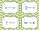 Solving Equations Growing Bundle