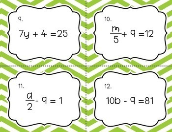 Solving Equations Growing Bundle