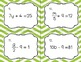 Solving Equations Bundle