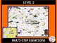 Solving Equations Halloween Mazes 3 Differentiated Levels