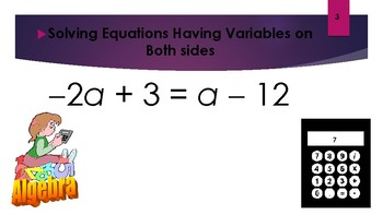 Solving Equations Having Variables on Both Sides