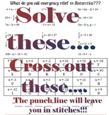 Solving Equations Humor