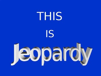 Solving Equations Jeopardy {Editable} 8.EE.8