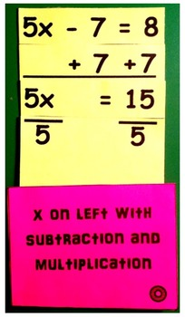 Solving Equations Interactive Notebook