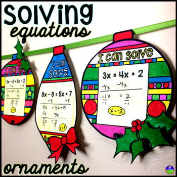 Solving Equations Ornaments