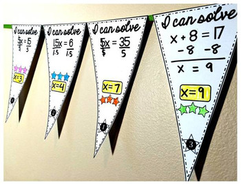 Solving Equations Pennant Bundle