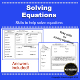 Distance Learning Solving Equations, Practice Tricky Problems