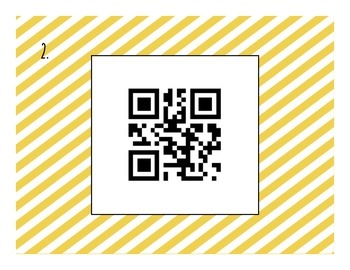 Solving One-Step Equations QR Code Task Cards (Multiplying & Dividing)
