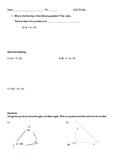 Solving Equations Quiz