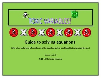 Solving Equations Resource and Activity