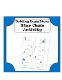 Solving Equations Review Activity