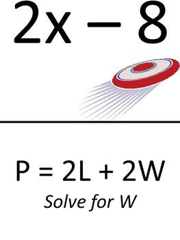 Solving Equations (Rewriting Formulas) Scavenger Hunt & Exit Tickets