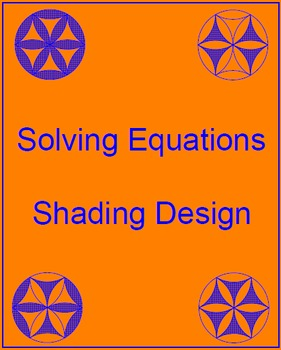 Solving Equations - Shading Design (20 problems)