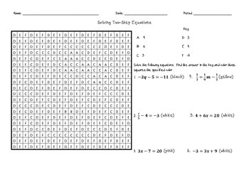 Solving Equations Solve and Shade