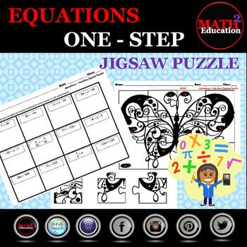 Solving One Step Equations Jigsaw Puzzle