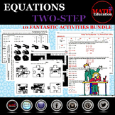 Solving Two Step Equations Bundle