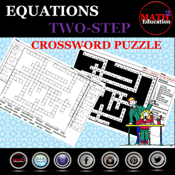 Solving Two Step Equations Crossword