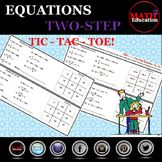 Solving Two Step Equations Tic Tac Toe