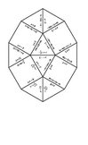 Solving Equations Tarsia Puzzle-Answer Key