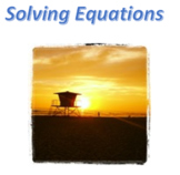 Pre-Calculus: Solving Equations Test Bank