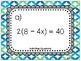 Solving Equations Tic-Tac-Toe