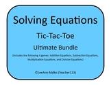 Solving Equations Tic-Tac-Toe - Ultimate Bundle