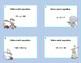 Solving Equations Using All Four Operations- Grade 6 Algebra-Task Cards- Rabbits