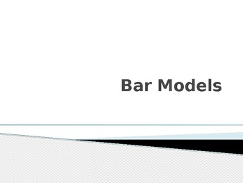 Solving Equations Using Bar Models Power Point