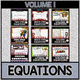 SOLVING EQUATIONS Volume 1
