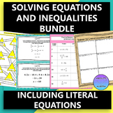 Solving Equations and Inequalities Bundle