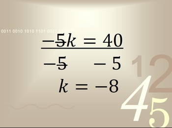 Solving Equations and Inequalities Involving Integers