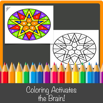 Solving Equations by Square Roots Color-by-Number!