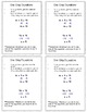 Solving Equations Cheat Sheets: Sample Problems and Instructions