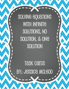 Solving Equations with Infinite, No, or One Solution (Multi-Step)