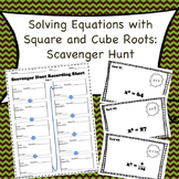 Square and Cube Roots: Scavenger Hunt (8.EE.2)