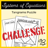 Solving Equations with Substitution Tangram Activity B (Challenge)