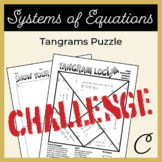 Solving Equations with Substitution Tangram Activity C (Challenge)