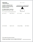Solving Equations with Variables on Both Sides (Guided Notes and Assessment)