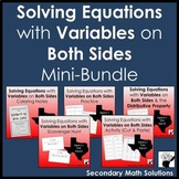 Solving Equations with Variables on Both Sides Mini-Bundle