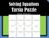 Solving Equations with Variables on Both Sides - Tarsia Puzzle