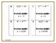 Solving Exponential Equations - Scavenger Hunt