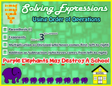 Solving Expression Using Order of Operations